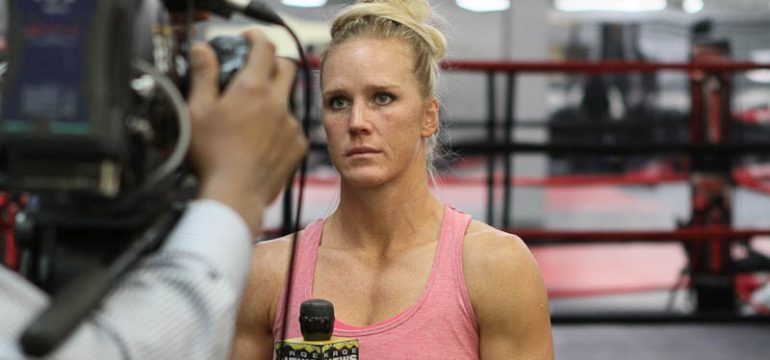 Holly Holm Interviw
