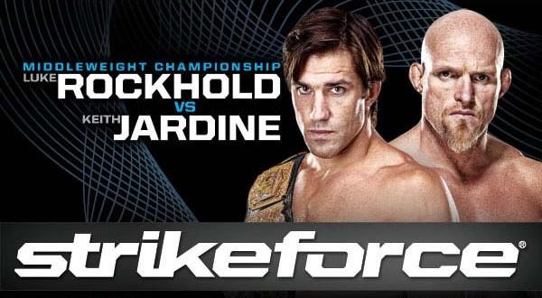 Strikeforce Rockhold vs Jardine Poster