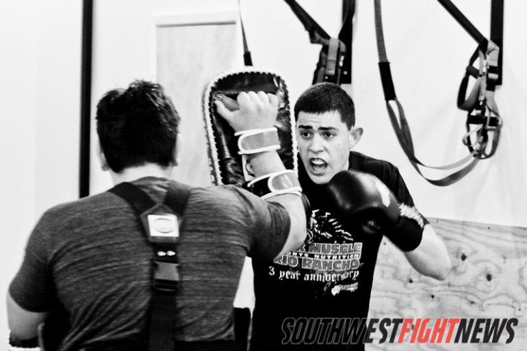 Steve Garcia training at Mean1 MMA
