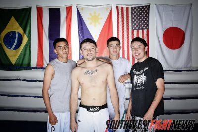 "Joshua ""The Destroya"" Montoya and Crew at ANK / Santa Fe Muay Thai"
