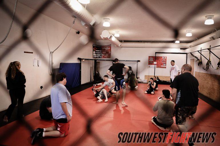 Carlos Condit teaching at Mean1 MMA
