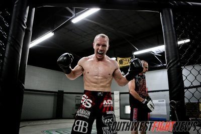 Travis Marx prepares for Bellator 68