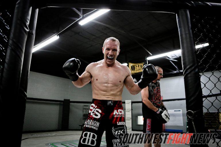 Travis Marx prepares for Bellator 68