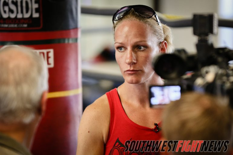 Anne Sophie Mathis Open Workout