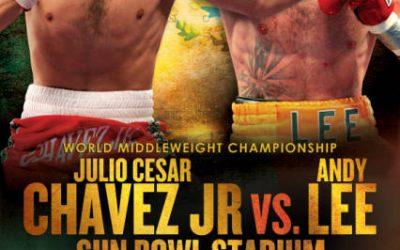 chavez jr v lee poster
