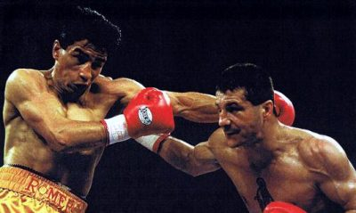 Johnny Tapia vs. Danny Romero