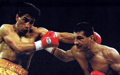 Johnny Tapia vs. Danny Romero