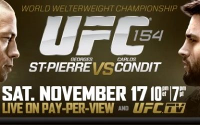 St-Pierre vs Condit