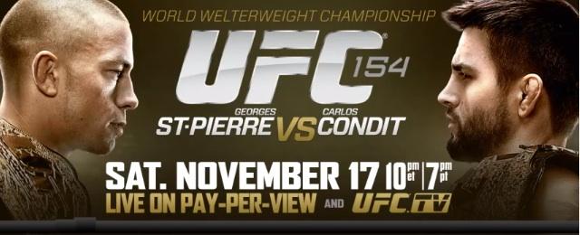 St-Pierre vs Condit