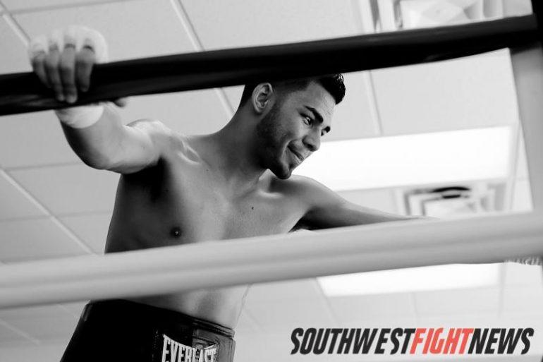 Professional Boxer Matthew Baca