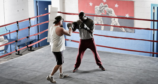 Austin Trout and Antonio Margarito Sparring
