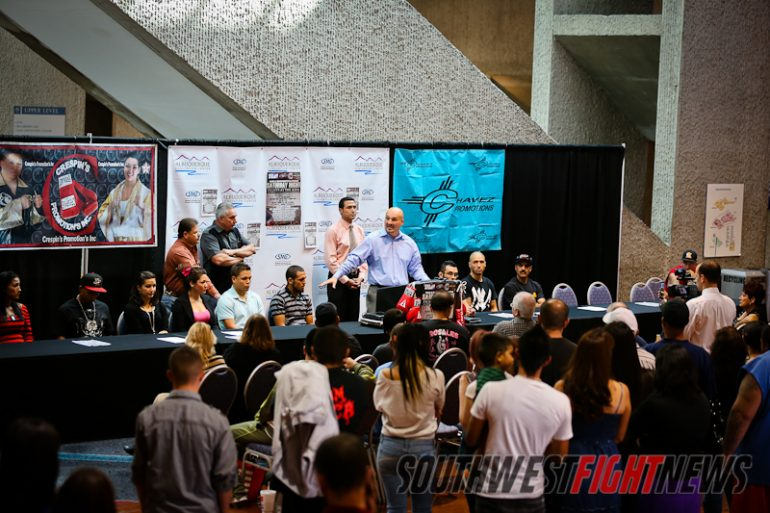 Saturday Night Fights at Kiva Auditorium