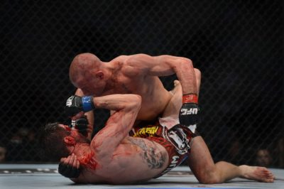 St-Pierre Controlled the Ground Against Condit