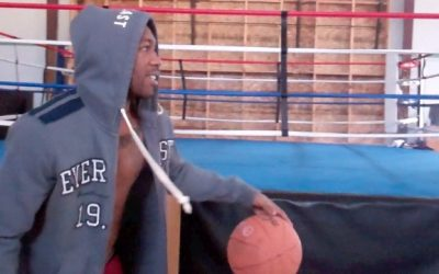 Austin Trout Playing Basketball