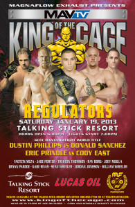 King of the Cage: Regulators
