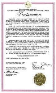 "Dec. 15th Proclaimed ""Austin Trout Day "" by Governor"