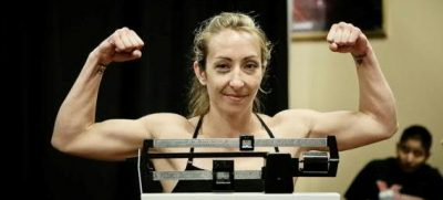 Heather Jo Clark weighing in