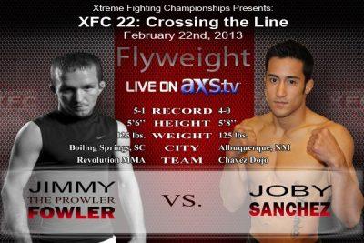 Sanchez vs Fowler XFC 22