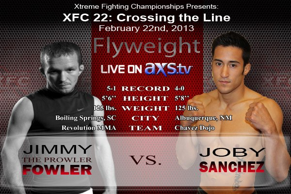 Sanchez vs Fowler XFC 22