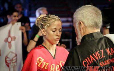 Angelica and Grandmaster Chavez
