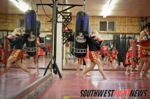Angelica Chavez has trained in Kajukenbo her entire life.