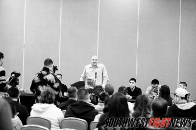 Photos form the Johnny Tapia presents Presser