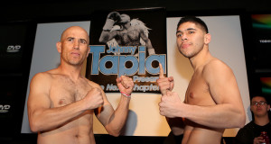 Johnny Tapia Presents Weigh-In
