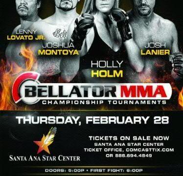 Bellator Local Fighter Poster