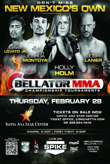 Bellator Local Fighter Poster