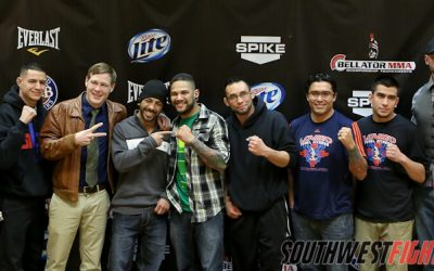 Photos form the Bellator 91 Presser