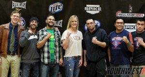 Photos from the Feb 5th 2013 presser in Rio Rancho.  For more information go here: http://bit.ly/Bellator91