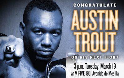 Austin Trout Flyer