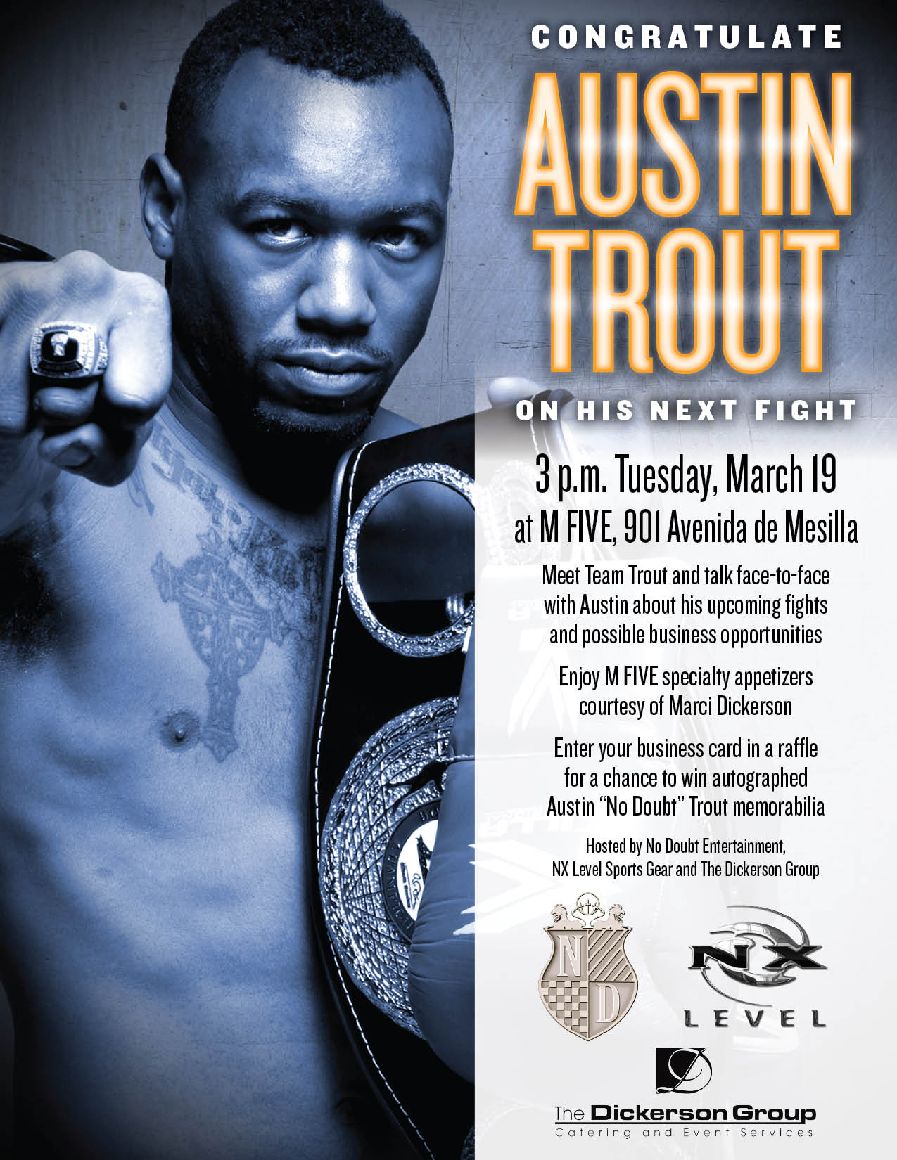Austin Trout Full Flyer