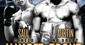 Canelo Alvarez vs Austin Trout Poster