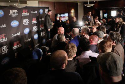UFC 158: Daily Blog