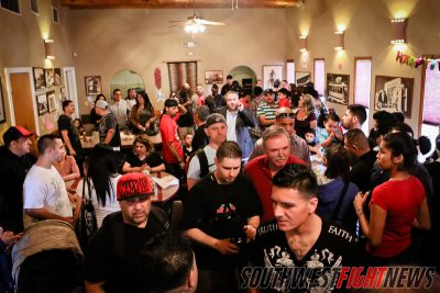 Johnny Tapia Presents 3 - Weigh-In