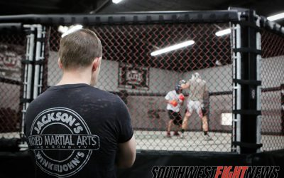 Trout at Jacksons MMA