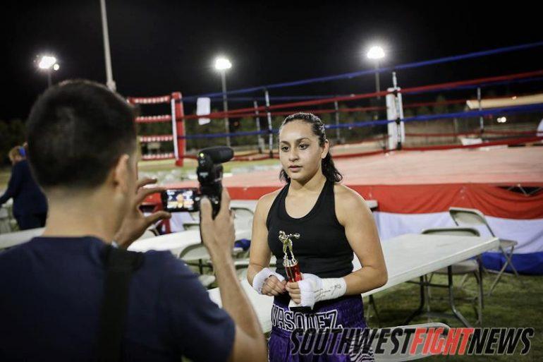Ayanna Vasquez USA boxing