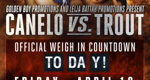 Canelo Trout Weigh in