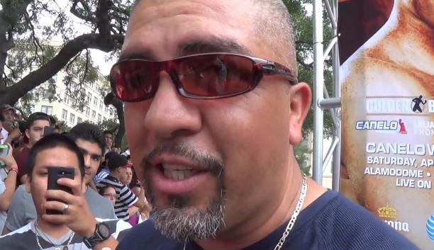 Boxing Trainer Joel Diaz