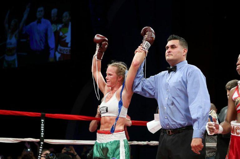 Holly Holm defeats Mary McGee