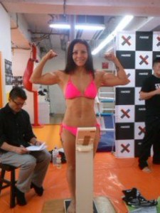Brenda Gonzales Weigh In for Pancrase 247