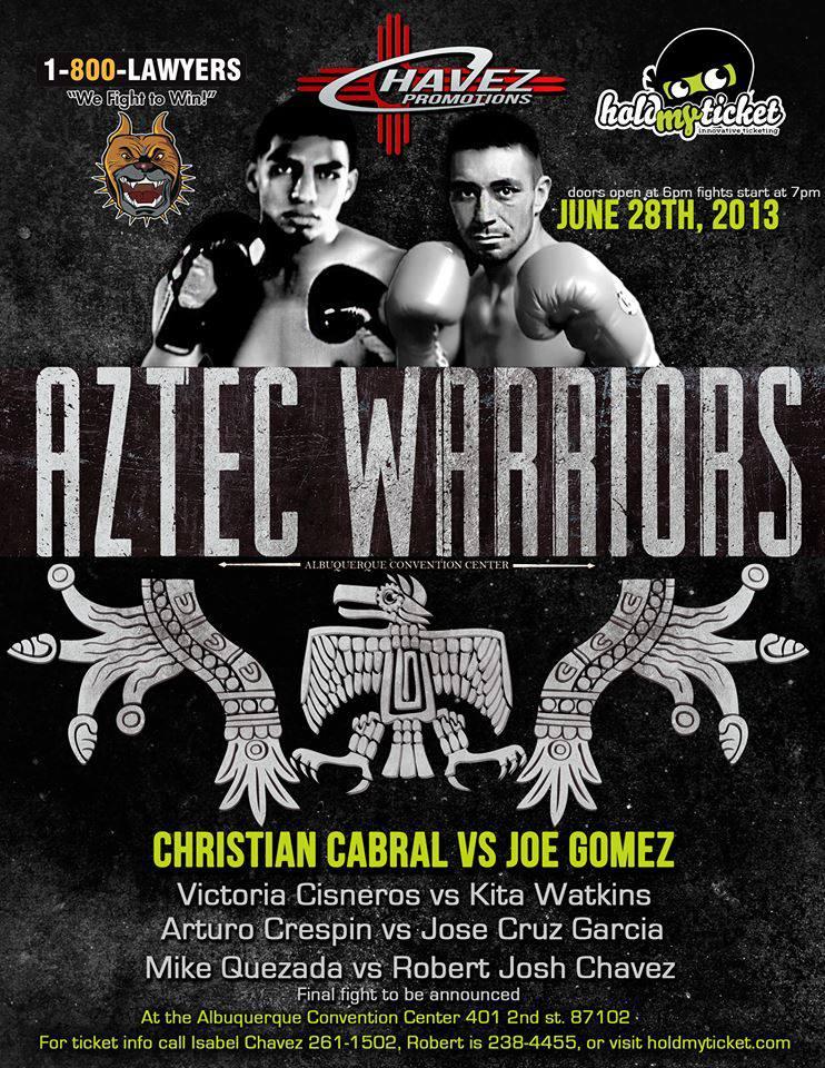 Cristian Cabral vs Joe Gomez