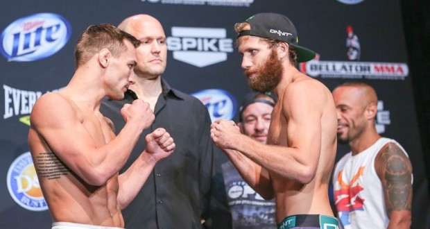 Chandler vs Rickels for Bellator Lightweight Championship