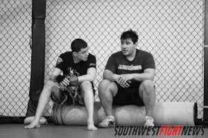Steve Garcia training at Mean1 MMA