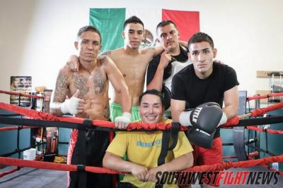 Holmes Boxing Team
