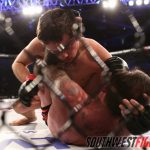 Josh Montoya was too much for Tomaselli, picking up the referee stoppage victory.