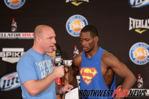 Will Brooks will look to earn his shot at the Bellator tournament final on Oct. 25