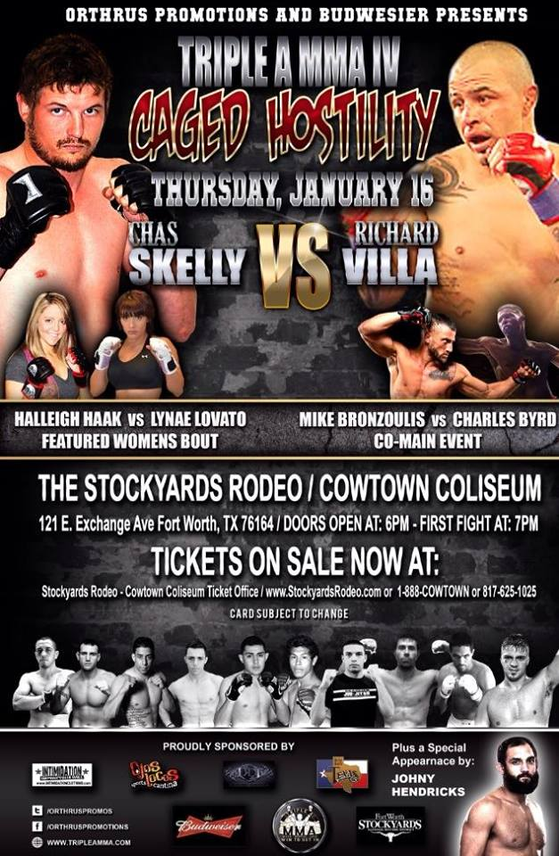 Triple A MMA Caged Hostility