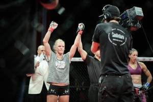 Will Holly inch closer to the UFC with a win tonight? Her fight with Juliana Werner may be an audition for the biggest fight in her MMA career to date.  Will Fox / Sherdog / Southwest Fight News / The Fox Identity